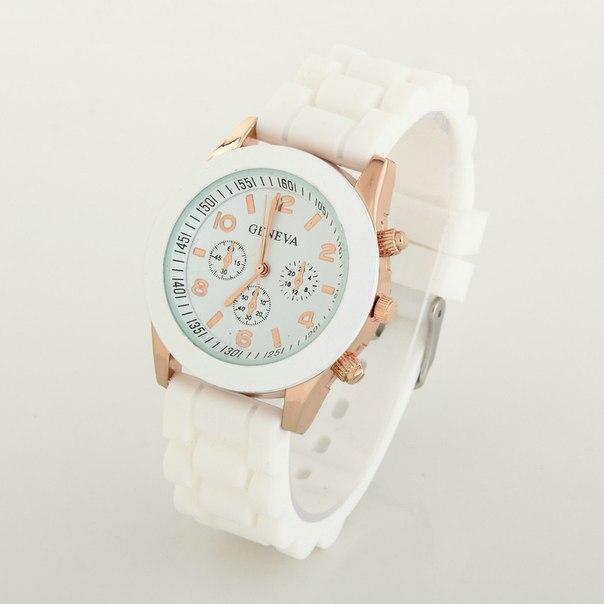 Часы Женские Geneva Белые