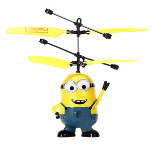 купить летающий миньон игрушка прикольная электронная гадкий я низкая цена