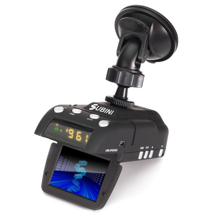 купить видеорегистратор 3 в 1 subini gr-h9+ str низкая цена